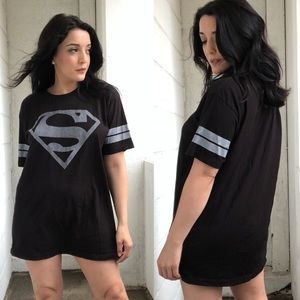 Superman Black Tee
